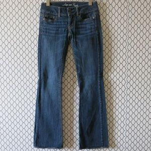 American Eagle Artist Stretch Denim Jeans Size 00